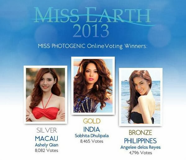 Alyz Henrich : Congratulations to Miss Earth 2013 ~ Wazzup