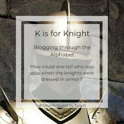What identifies a knight?