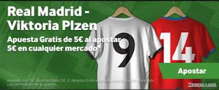 betway promocion Real Madrid vs Viktoria Plzen 23 octubre
