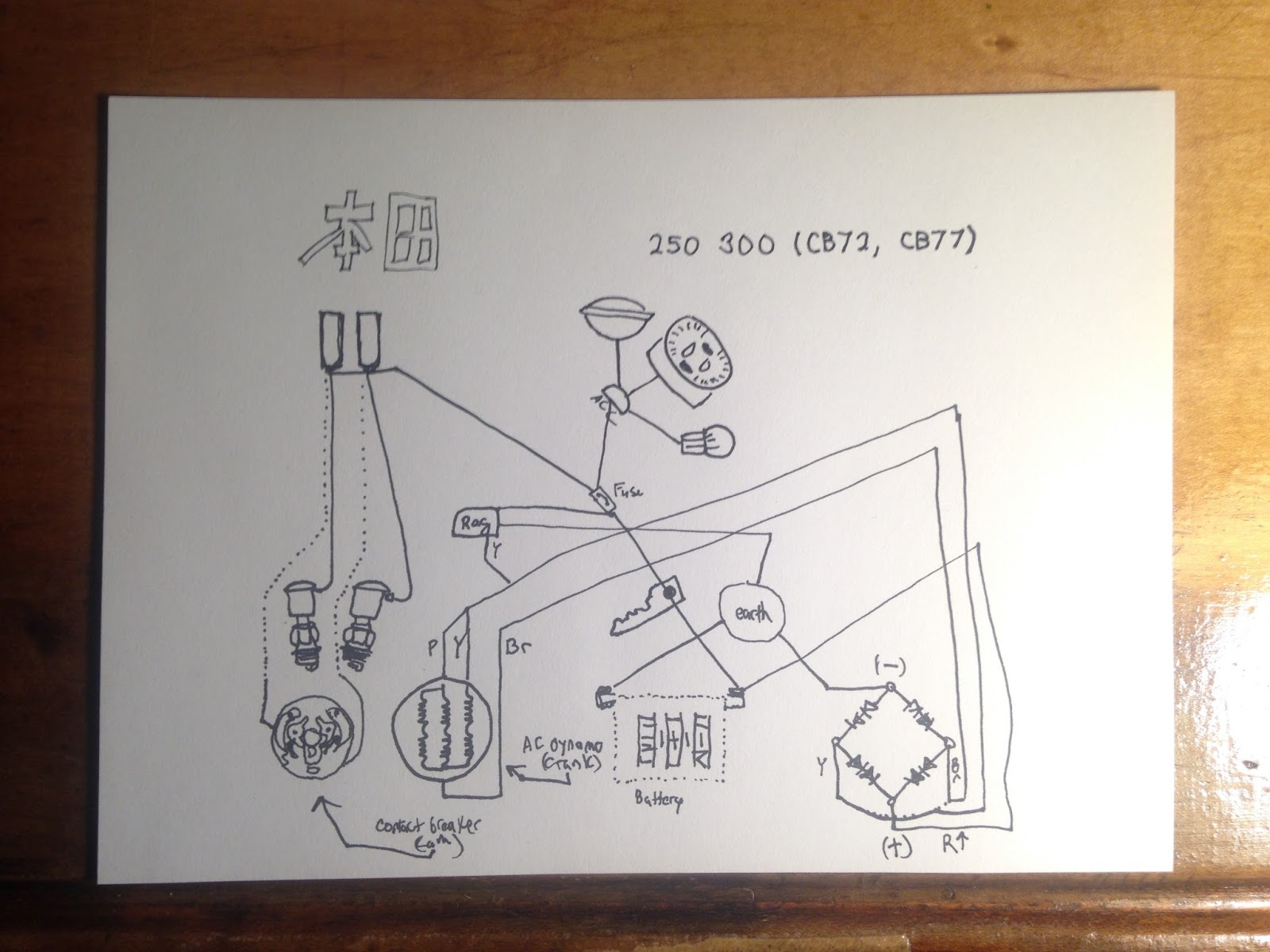 Honda Cl77 Wiring Diagram Schematic Diagrams Cl70 Smart U2022
