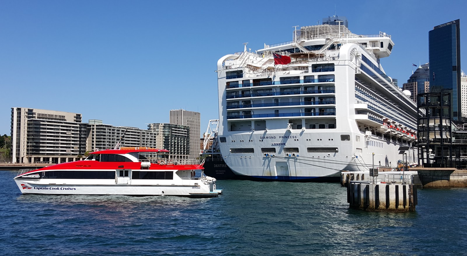 Sydney  City And Suburbs Circular Quay Cruise Boat And