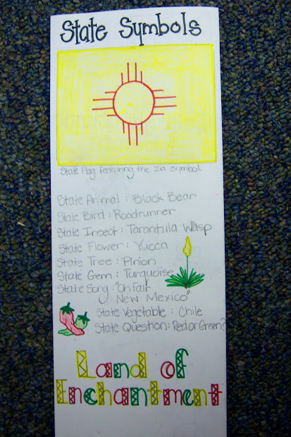 4th Grade State Brochure Project