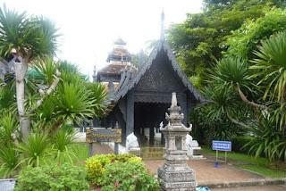 Chiang Mai, Wat Chedi Luang o Templo de la Gran Estupa.