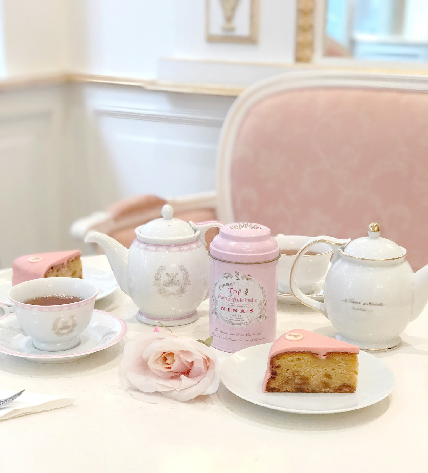 A Marie Antoinette Tea Room In Paris | Love, Catherine
