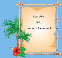 Soal UTS IPA Kelas 4 Semester 2 untuk Tahun Ajaran 2017/2018