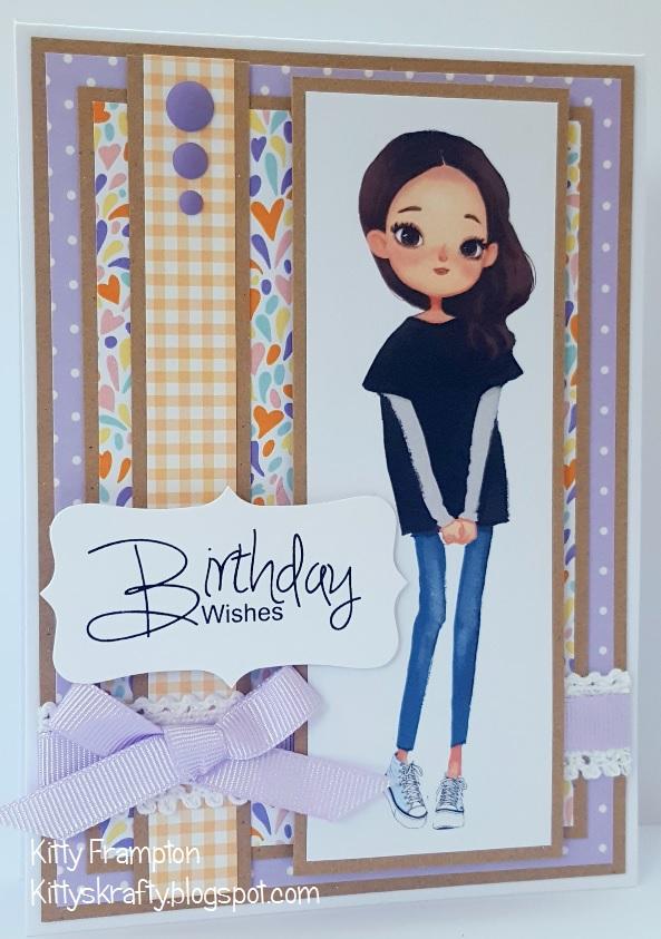 Kittys Krafty Blog Jessica Birthday Wishes