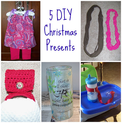 5 Homemade Christmas Presents (and instructions to make them) | scriptureand.blogspot.com