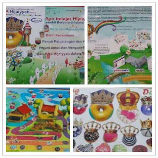 Buku ABACA Card, ABACA Hijaiyah, Belajar Membaca Hijaiyah, Kartu ABACA
