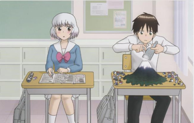 Top Best School Comedy Anime List - Tonari no Seki-kun: The Master of Killing Time