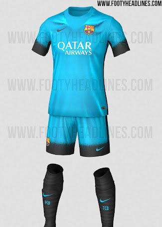 f20878b18cbb2 El FC Barcelona vestirá de azul celeste en la Champions League - La ...