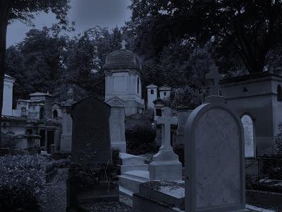 Pere Lachaise cemetery, Paris.
