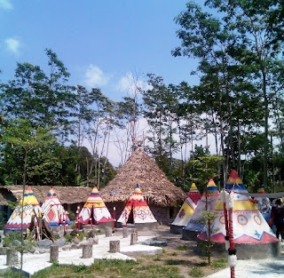 Tenda Kampung Indian Kediri