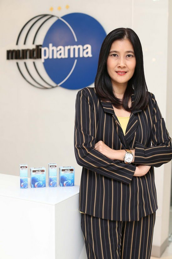 "Mundipharma"" competes for shares in the throat and oral care"