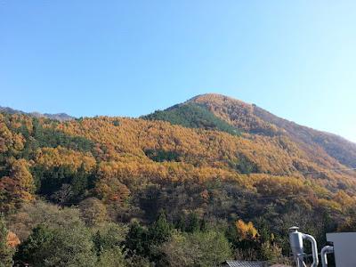奈良井宿_入口紅葉