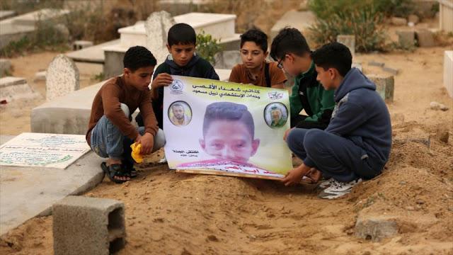 ONU y UE piden investigar muerte de un menor palestino por Israel