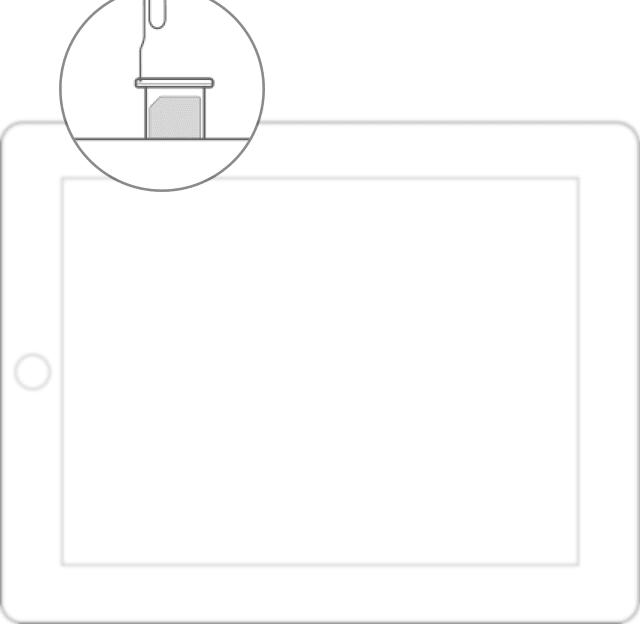 كيفية ازالة البطاقة وتركيبها SIM Card على ايباد
