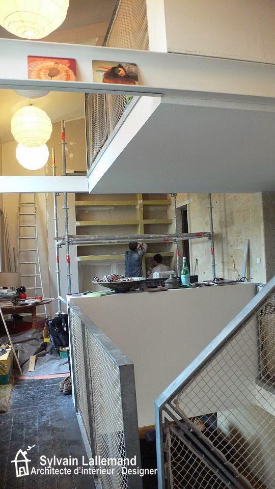 r novation d 39 une choppe bordelaise triplex bordeaux centre intervention sur une maison d. Black Bedroom Furniture Sets. Home Design Ideas