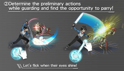 SAO MD - Parrying and Switching
