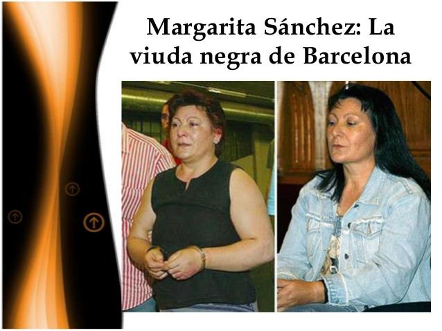 "Margarita Sánchez Gutierrez ( ""La viuda negra de Barcelona"")"