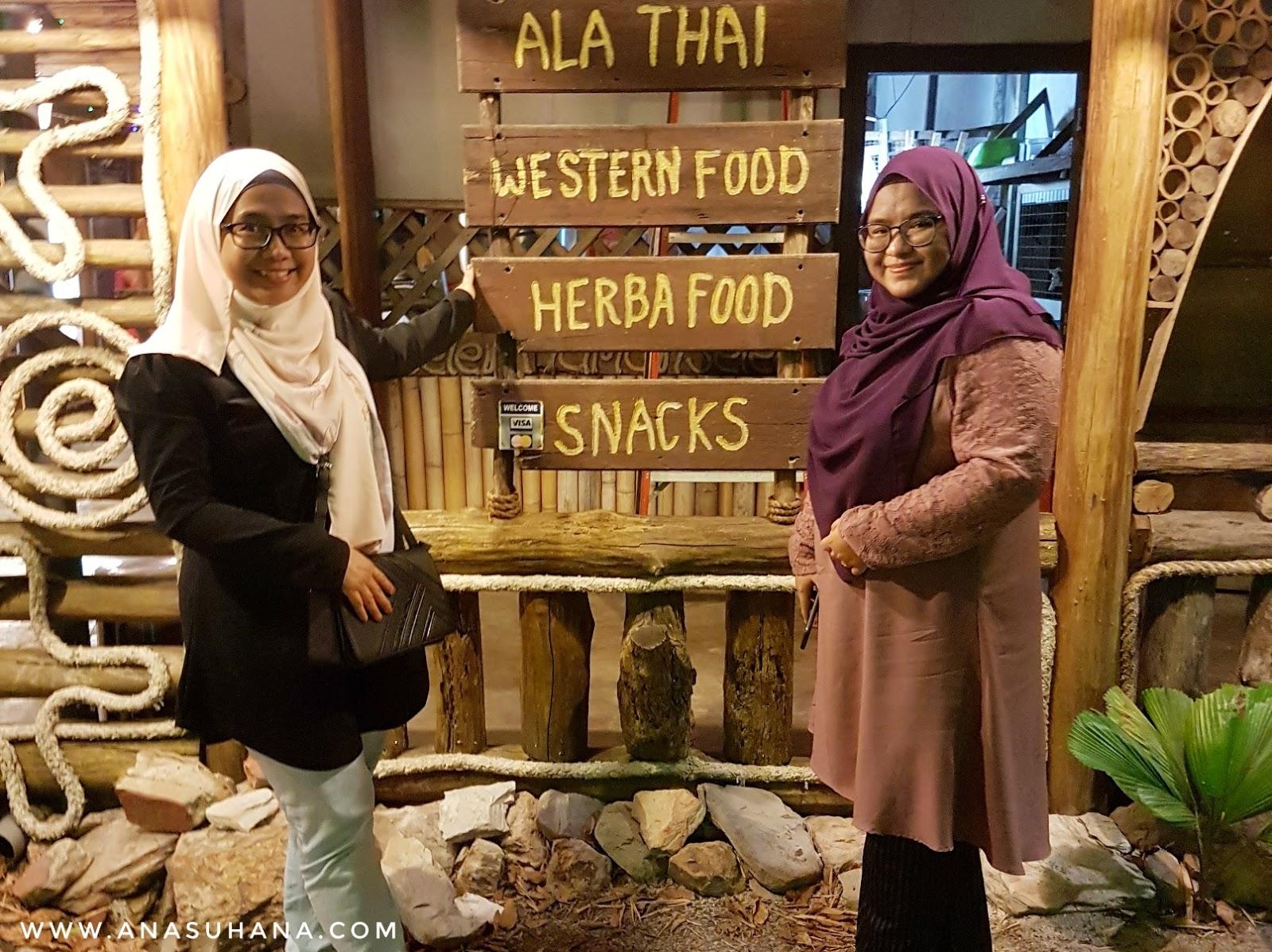 NR Cafe Tok Jembal Kuala Terengganu - Restoran Daripada Buluh