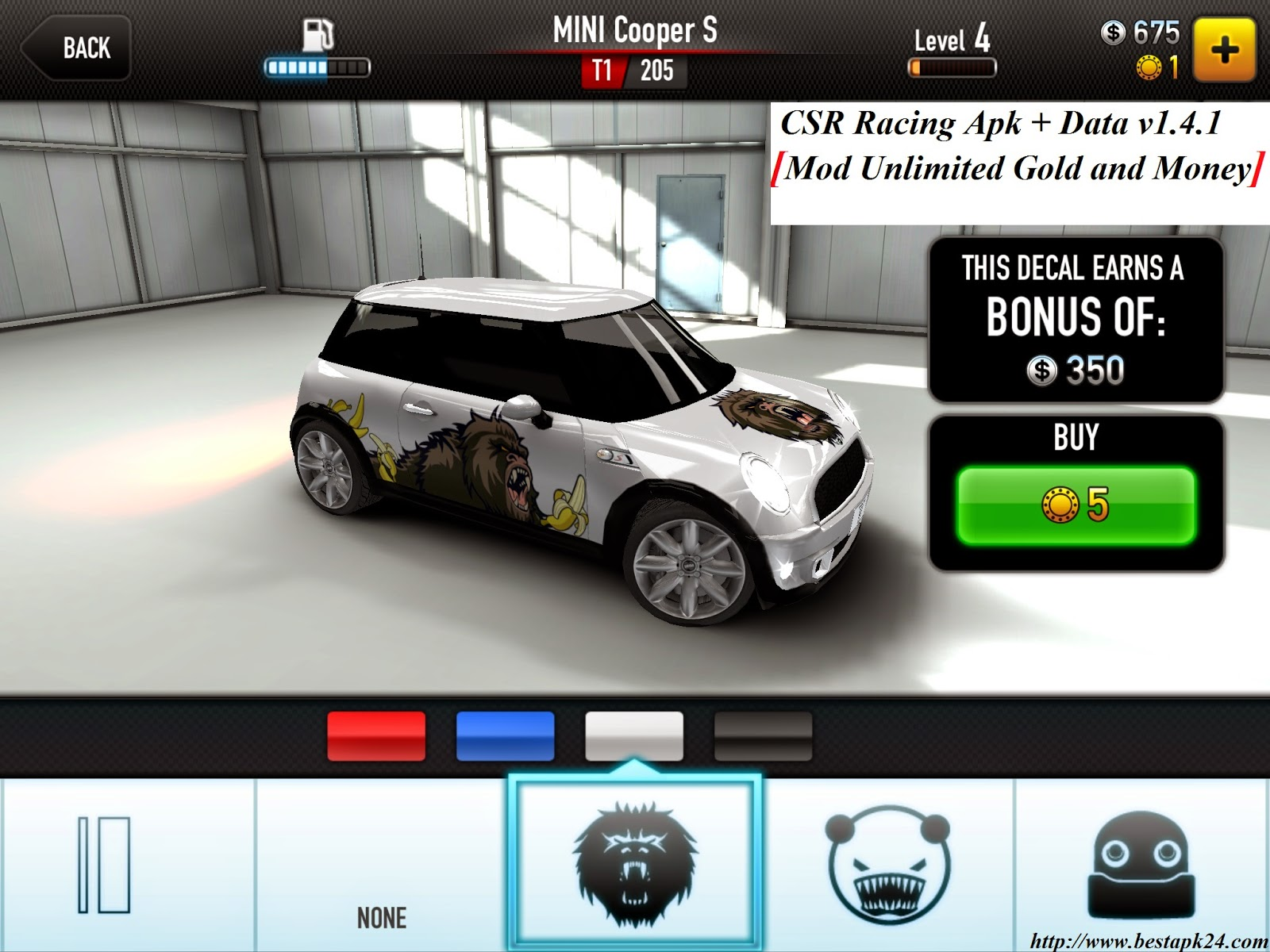CSR Racing Apk + Data v2014