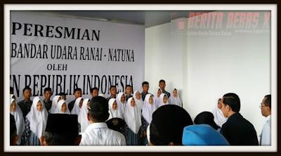 Kejadian, Presiden, Pencapaian Presiden Jokowi, Jokowi, Indonesia, Ekonomi, Bandara Natuna