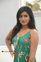 Actress Eesha Latest Pos in Green Floral Jumpsuit at Darshakudu Movie Teaser Launch .COM 0075.JPG