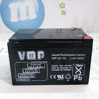 Aki VMP NP12-12 Sealed Lead Acid (SLA) untuk Mobil, Motor Mainan Aki,dan Sepeda Listrik
