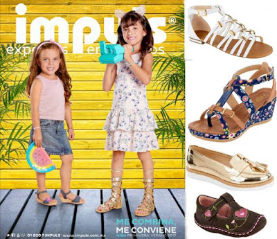 zapatos para niñas impuls pv-2017