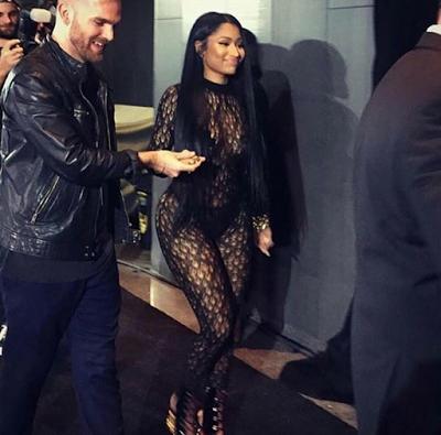 n - Nicki Minaj signed contract with Wilhelmina  as Major Modeling