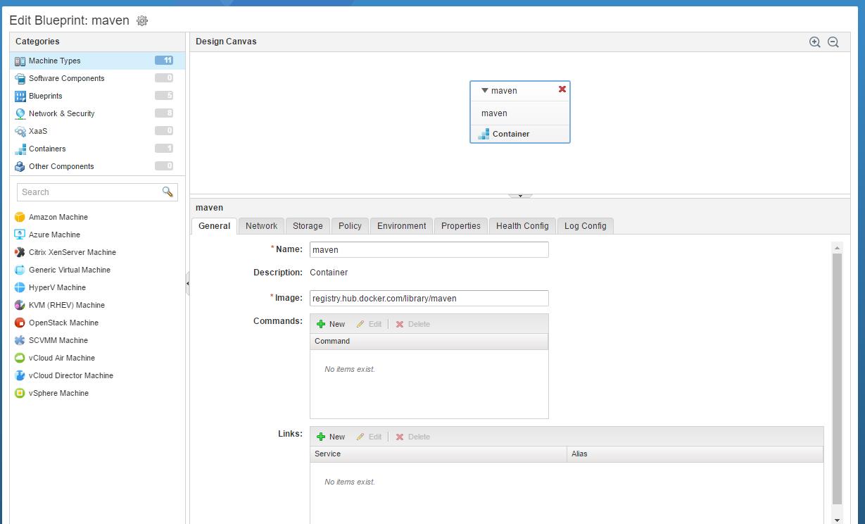 Diwans tech blog serverless maven build using vrealize automation blueprint schema malvernweather Gallery