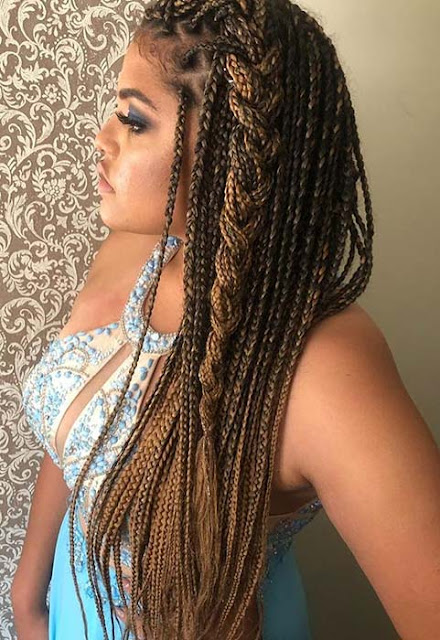 Love the ombre Lemonade Braids Hairstyles 36 Lemonade Braids Beyonce Hairstyles To Rock In 2019