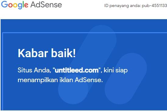 Dilema Google Adsenseku Selesai