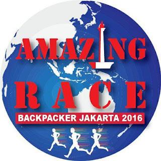 Backpacker Jakarta : Amazing Race 2016