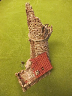The Miniatures Man: 3D-printed Ruined Lighthouse by