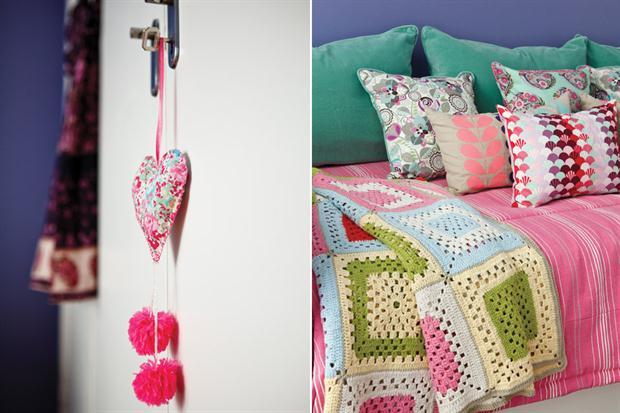 manta pastel crochet - Ideas para un cuarto de una preadolescente…