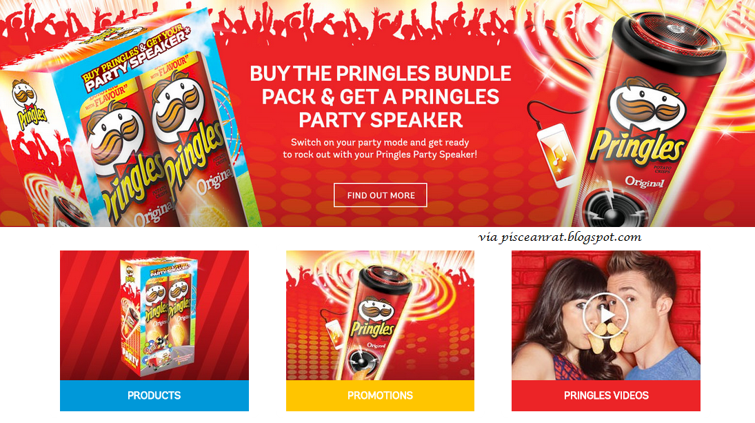 pringles, party speaker, promo,