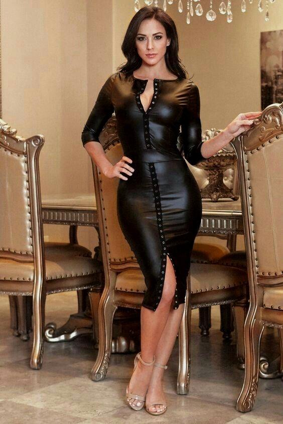Pornstars in leather