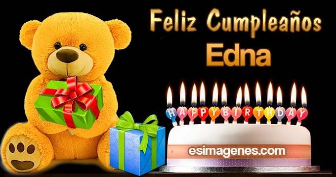 Feliz Cumpleaños Edna