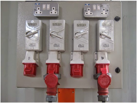 Dont Cut Safety Pin Power Plug Reefer Container