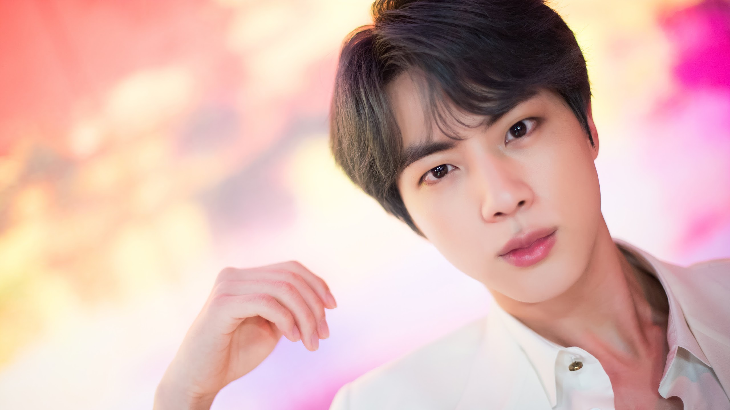 jin bts boy with luv uhdpaper.com 4K 57