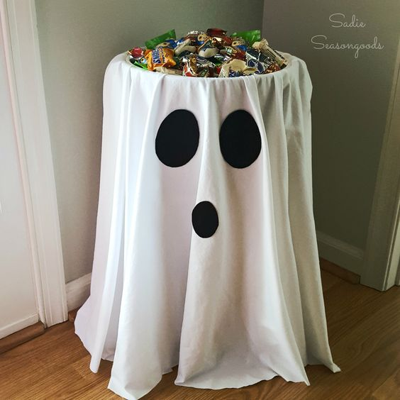 Halloween Party DIY Ghost Table Decoration