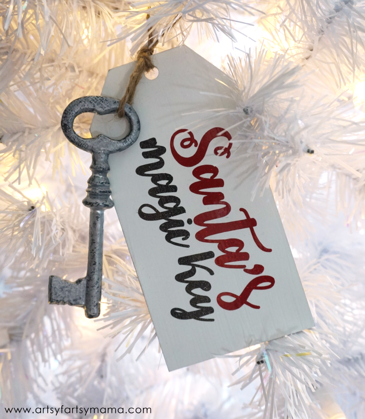 Santa's Magic Key Ornament