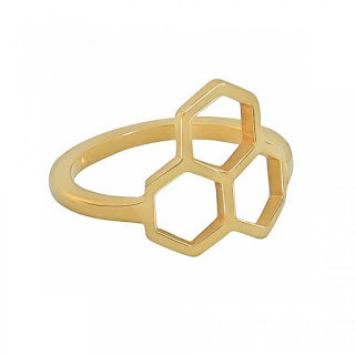 Honeycomb Ring Tessa Packard Rose Leslie