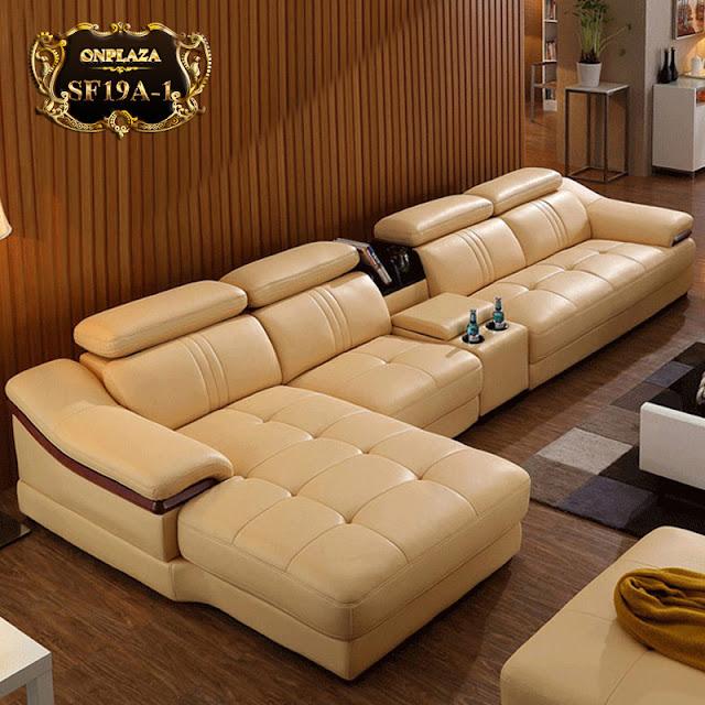 Sofa bọc da cho căn hộ chung cư