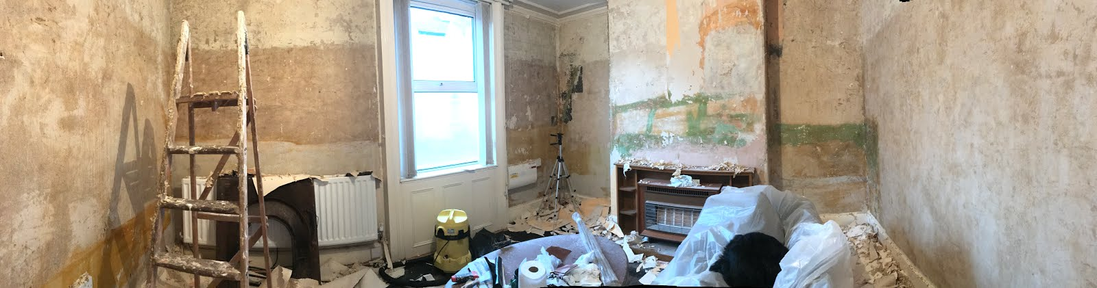 removing wallpaper renovation blog