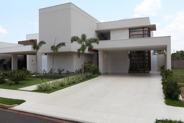 fotos jardim horizontal : fotos jardim horizontal:Construindo Minha Casa Clean: Projeto da Minha Fachada com Muros e