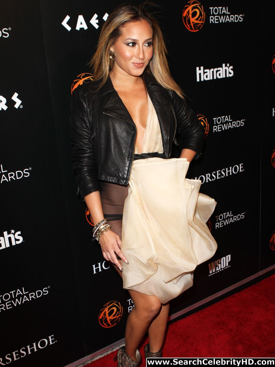 Absurd situation adrienne bailon wardrobe malfunction dress