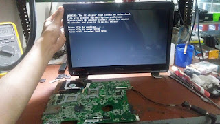 service laptop dell n4010 tidak tampil di malang