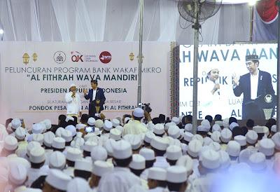 Presiden Jokowi Berharap Bank Wakaf Bisa Selesaikan Masalah Yang Tidak Bisa Diselesaikan Perbankan - Info Presiden Jokowi Dan Pemerintah
